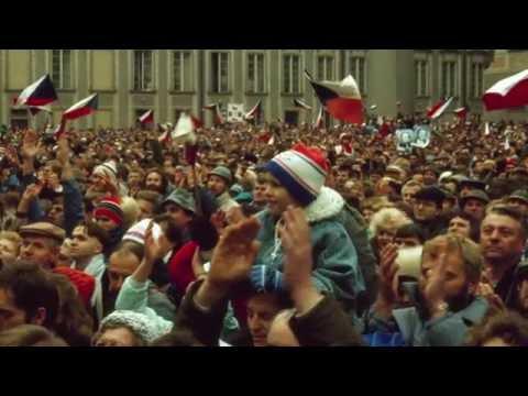 Velvet Revolution in Czechoslovakia 1989