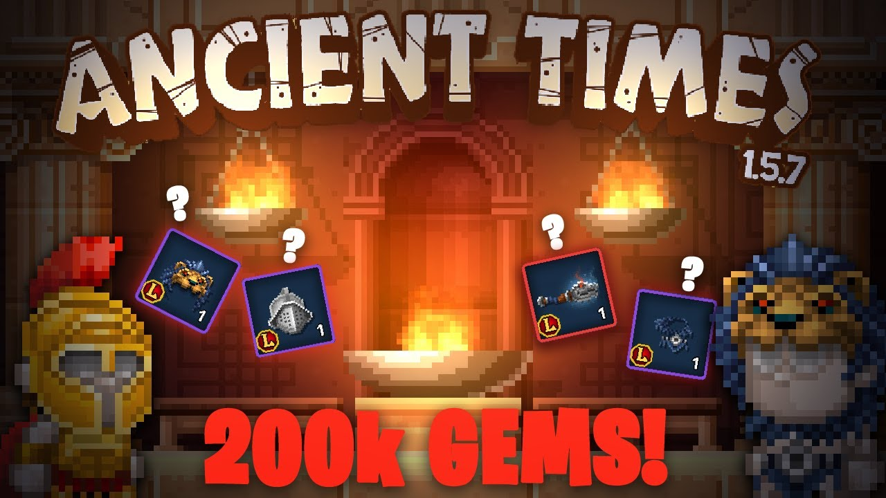 Opening Ancient Times Booster With 200.000 Gems😱🤑! | Pixel Worlds