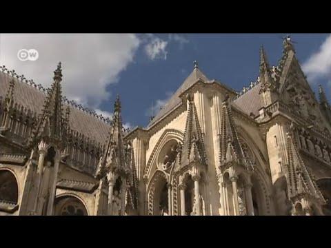 Reise in die französische Stadt Reims   Euromaxx city