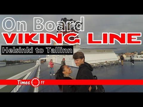 On Board Viking Line from Helsinki to Tallinn