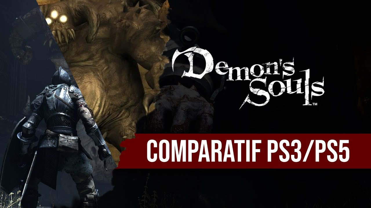 Comparatif Demon's Souls PS3 et PS5 (no commentary)