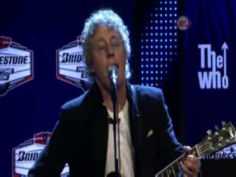 The Who acoustic performance Behind Blue Eyes/ Pinball Wizard (Ex Quality)