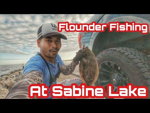 Flounder Fishing At Sabine Lake, In Texas | Bong Rith Vlog