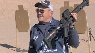 Jerry Miculek - Sets STL World Record - SHOT Show 2017