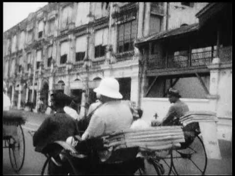 Cruise from Port Said to Malaysia in 1934