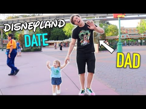 Being A Dad For 24 Hours (Disneyland Date) Ft Allie Brooke | Brian Redmon