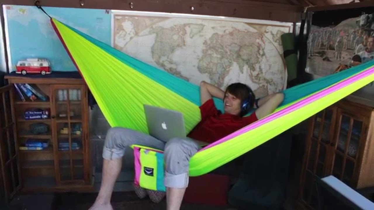 How To Install An Ultimate Hammocks Hanging Kit For Indoor Or Outdoor Use Youtube