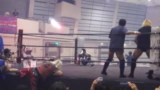 2016年7月17日 FMW軍 vs UWF軍 爆破決戦!岡山大会にて.