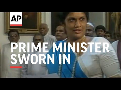 Sri Lanka - New Prime Minister Sworn In
