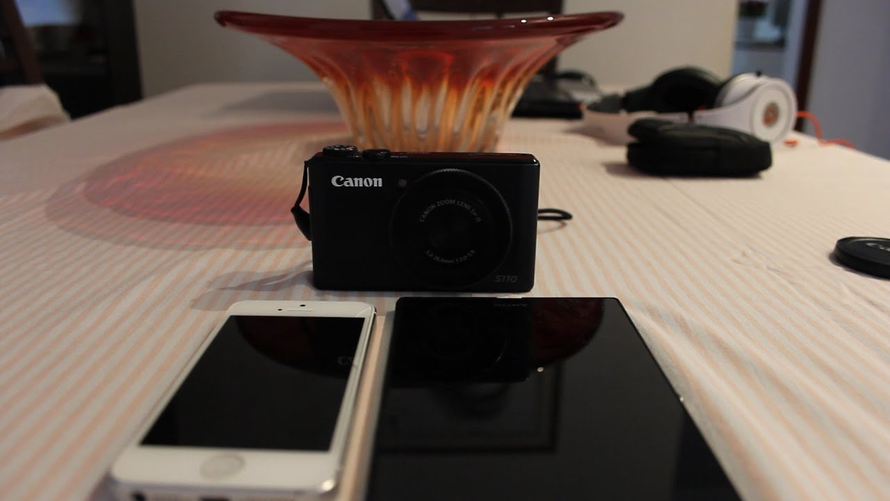 How to connect your canon camera s110 s120 to wifi to - Camera connectee iphone ...
