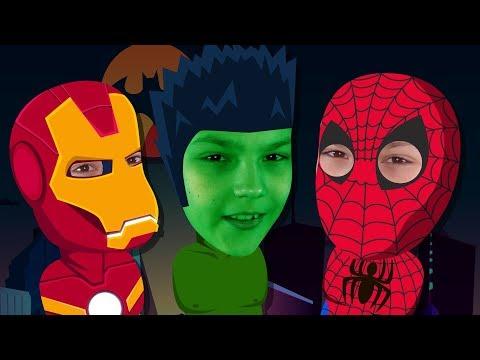 Superheroes Finger Family Song | Nursery Rhymes For Kids | Cucu Banana
