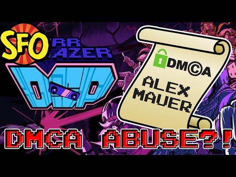 The Curious Case Of Alex Mauer -- Starr Mazer DSP DMCA Copyright Strike -- Indie-Fensible #Gamergate