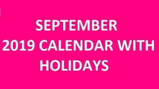September Offbeat holidays in