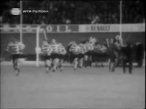 Sporting - 4 x Standard Liege - 0 de 1969/1970 Festa dos Campeões em 22/04/1970