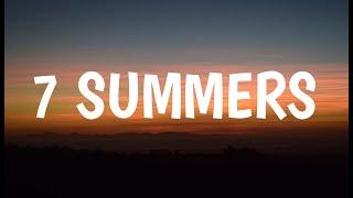 Morgan Wallen - 7 Summers (Lyrics)