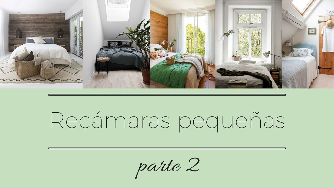Rec maras peque as parte 2 youtube for Imagenes de recamaras sencillas
