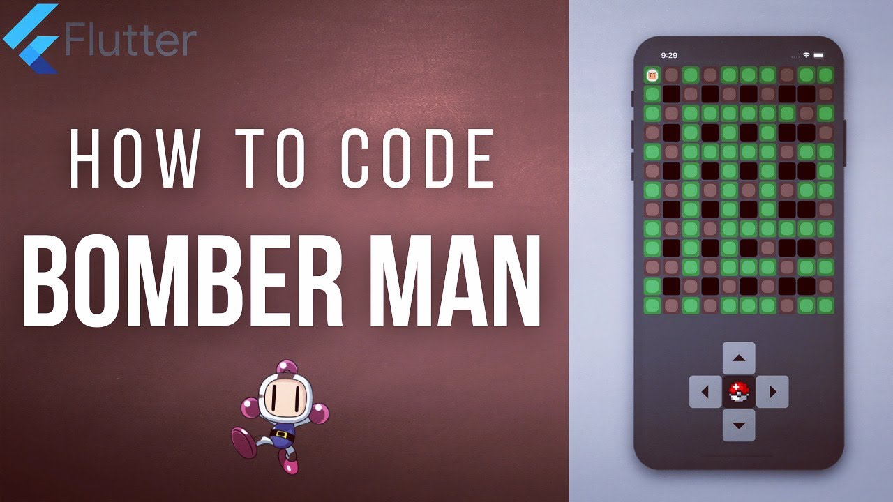 BOMBER MAN • FLUTTER GAME TUTORIAL