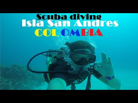 Buceo En San Andres Colombia - Scuba Diving GOPRO 4