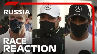 2020 Russian Grand Prix: Post-Race Driver Reaction