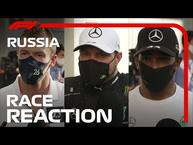 2020 Russian Grand Prix: Post-Race Driver Reaction