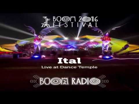 ITAL - Live Set@Boom Festival 2016 - Dance Temple 28  [Psychedelic Trance]