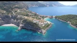 Island Paradise -Greece,Kefalonia  (AERIAL VIDEO @4K - Drone & Paragliding)