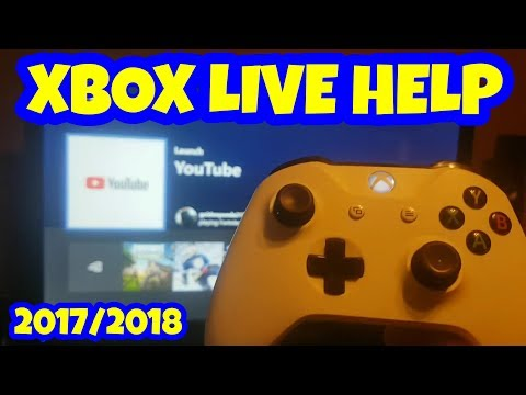 Fixing Xbox Live Sign in Problems 2017
