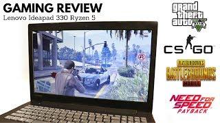 Lenovo Ideapad 330 Ryzen 5 Gaming Review | GTA 5 | CSGO | Apex Legends + Benchmark Test