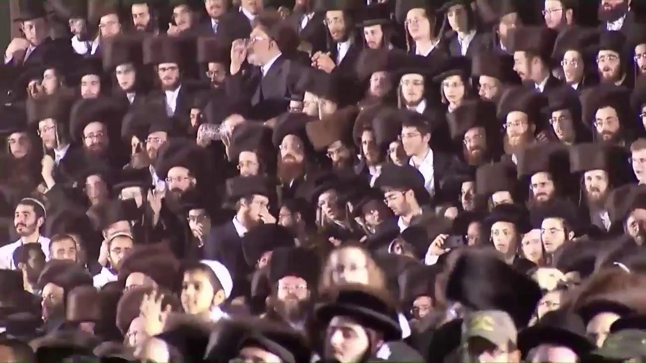 אלי אביב - שידור חי מההדלקה המרכזית ממירון התשע״ז 2017