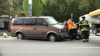 Port Moody Vehicle Accident T-bone St Johns St April 21 2015 Sony 4K