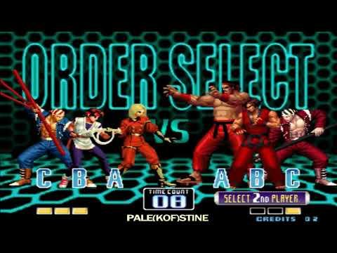 KOF 2002 - Cheng Long (程龙) VS Nikolai-保力達 [07/02/2018]