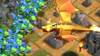"ALL BABY DRAGONS vs GIANT DRAGON!! ""Clash of Clans"" New Dragon's Lair!"