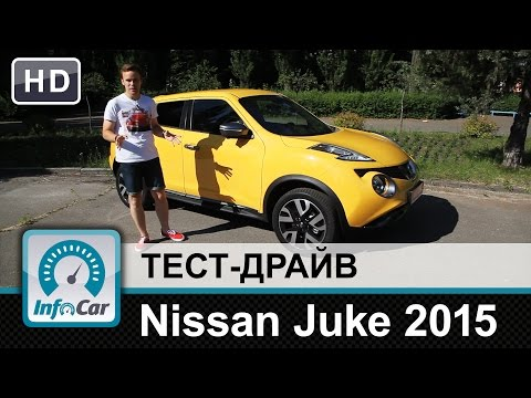 Nissan Juke 2015 - тест-драйв от InfoCar.ua (Ниссан Джук)
