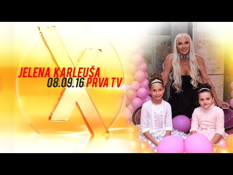 JELENA KARLEUSA // Exkluziv / Prva 08.09.16
