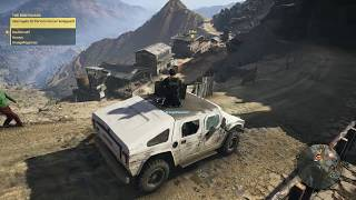MEDS CONVOY IN A HUMVEE w/Nex & Jester - Ghost Recon: Wildlands (PC)(ULTRA)