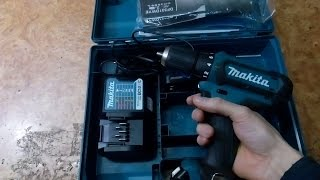 Аккумуляторный шуруповерт Makita DF 331 DWAE Обзор