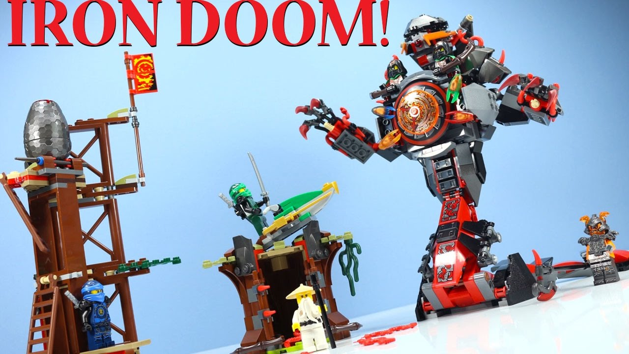 Lego Ninjago Dawn Of Iron Doom Set 70626 With Time Twins Doovi