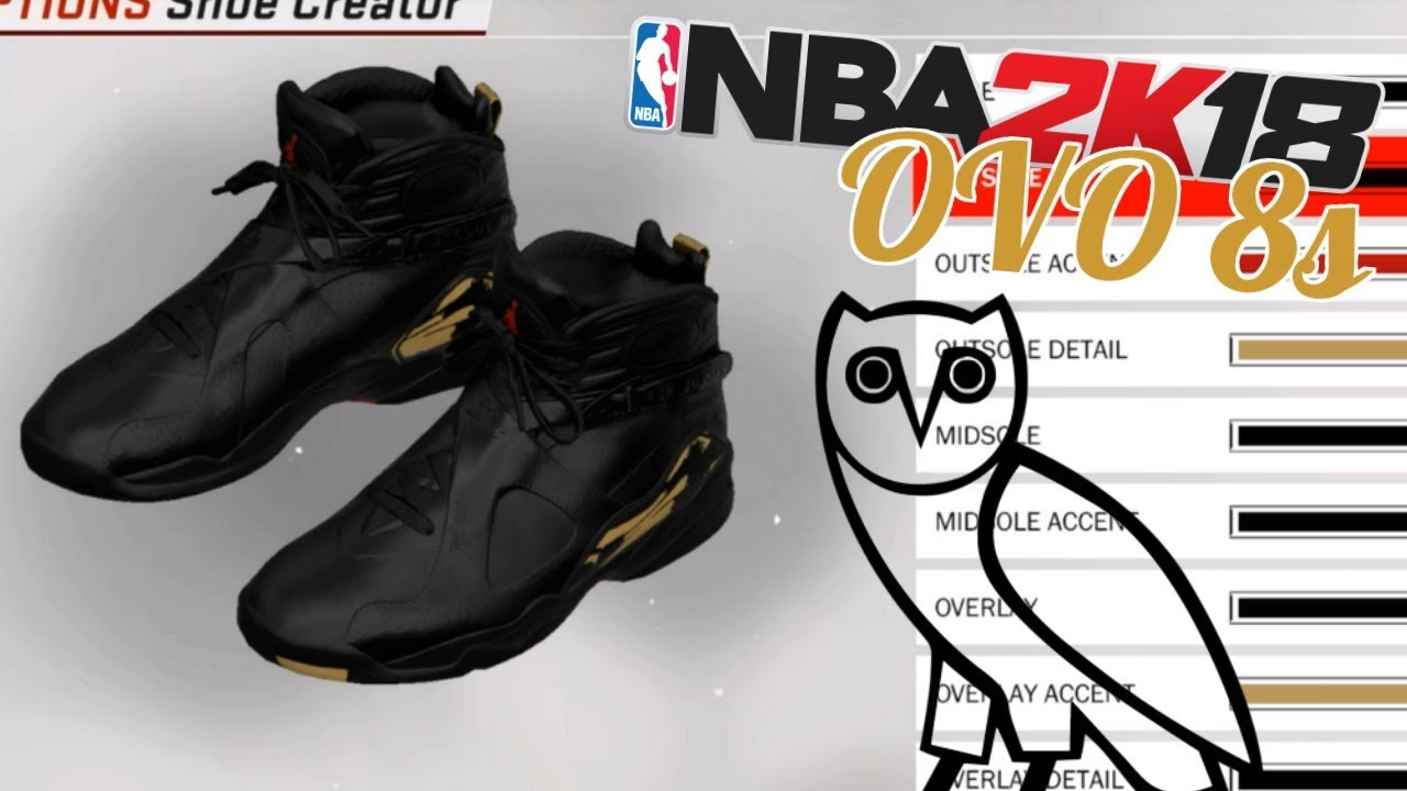 NBA 2K18 Shoe Creator | Air Jordan 8