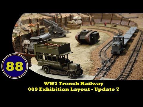 WW1 Trench Railway - 009 Exhibition Layout - Update 7