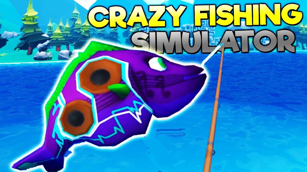 Man catches rare mutant musical fish near haunted forest for Crazy fishing vr