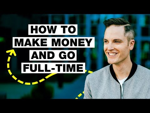 How to Go Full-Time on YouTube with a Small Channel - 5 Tips