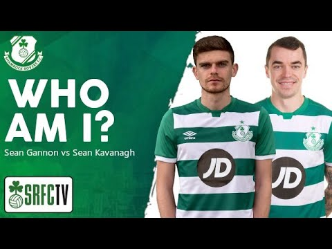 'Who Am I?' with the Ringsend boys, Sean Kavanagh and Sean Gannon,