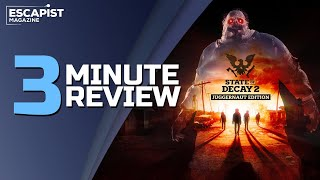 State of Decay 2: Juggernaut Edition | Review in 3 Minutes (Video Game Video Review)