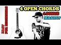 Channa Mereya | Closer | Zaalima | Kabira Mashup Cover Guitar Lesson | 4 Open Chords | Arijit Singh