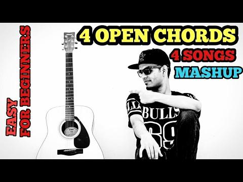 Channa Mereya | Closer | Zaalima | Kabira Mashup Cover Guitar Lesson | 4 Open Chords | Arijit Singh