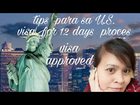 U.S.  #Tourist #visa  #aproval #B2🗽#OFW #HK