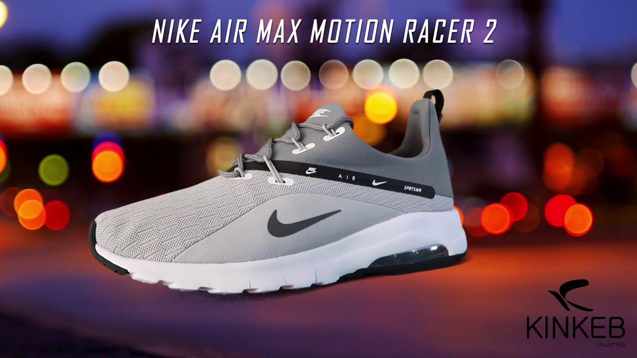 fcdfceff42 NIKE AIR MAX MOTION RACER 2 - YouTube