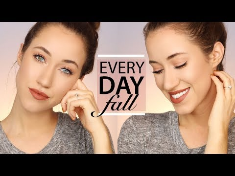 DRUGSTORE EASY EVERYDAY FALL MAKEUP TUTORIAL 2017 | ALLIE GLINES