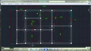 Autocad 2d Examen dessin de bâtiment