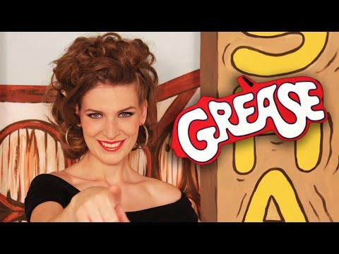SANDY | Grease Makeup Tutorial (Subtítulos)